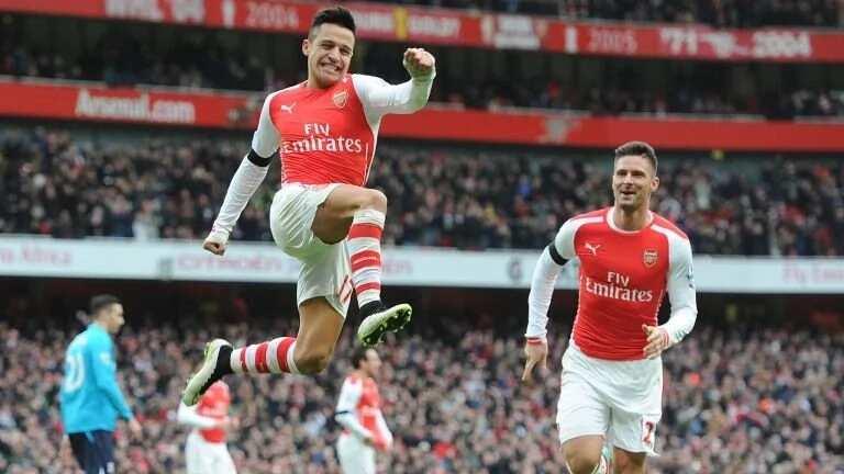 Arsenal top goal scorers per season