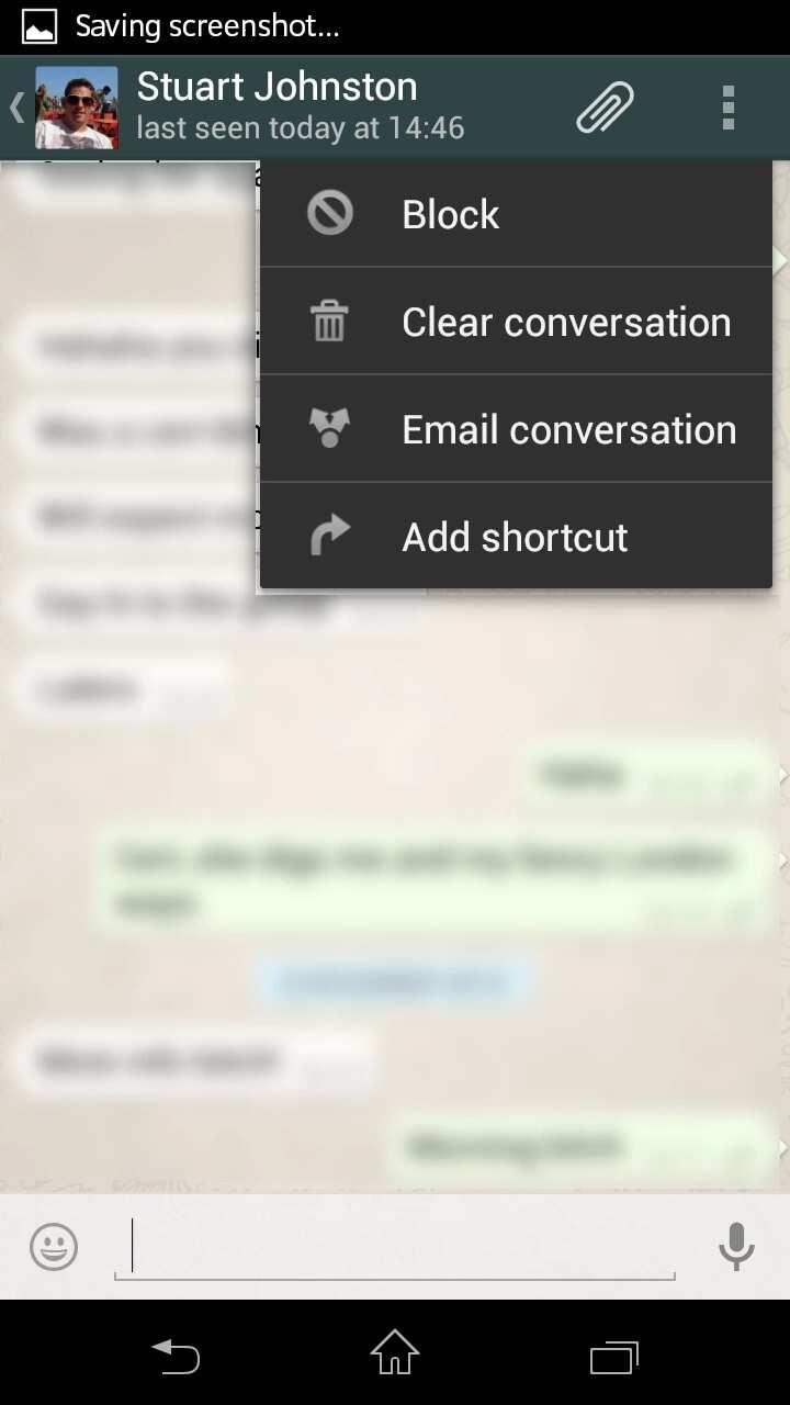 How to block someone on WhatsApp