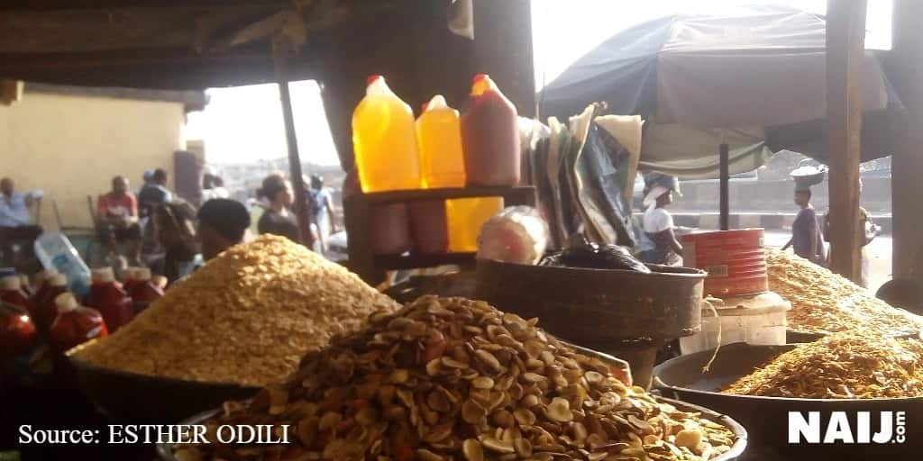 The price of ogbono fluctuates in some markets across Lagos state. Photo credit: Esther Odili