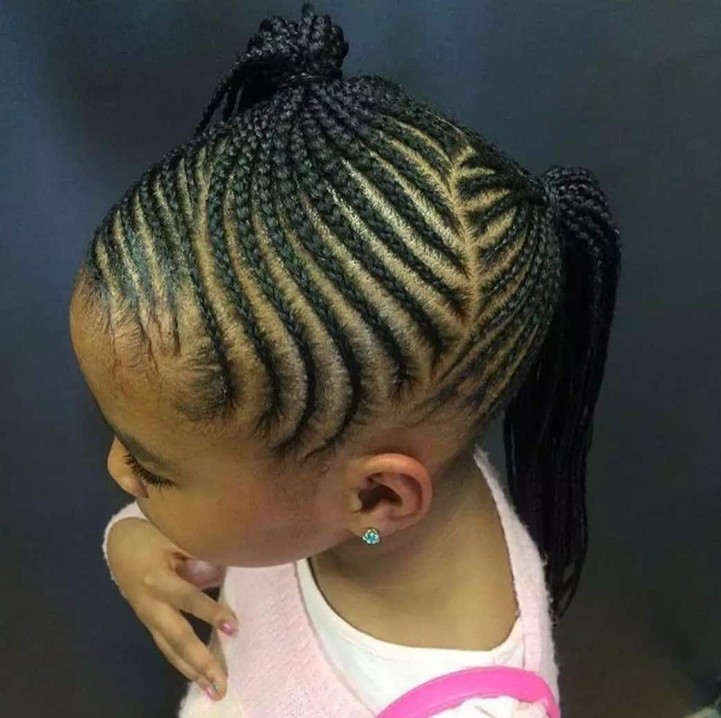If Your Daughter S Natural Hair Gets Too Messy Or Knotted You Can Always Go With The Braids Are Only Limited By Imagination