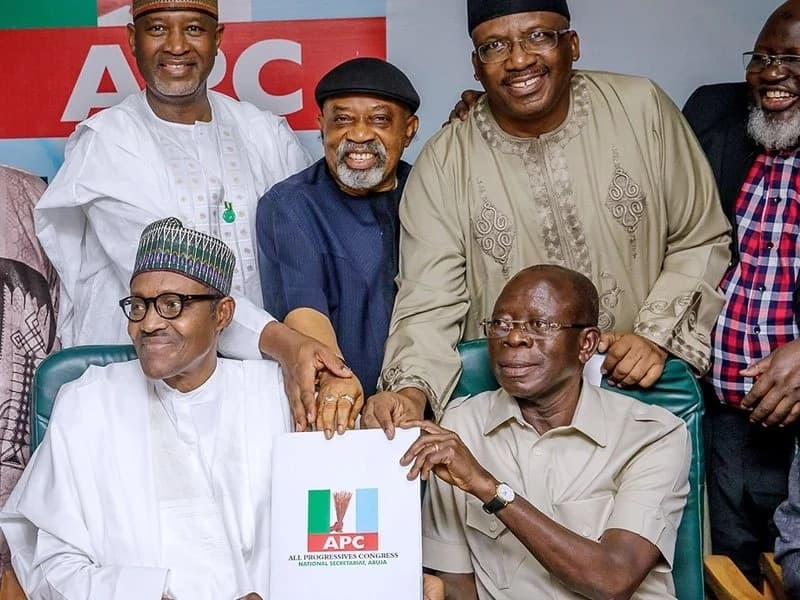 4 things Buhari said as he submits expression of interest form to run for 2nd term