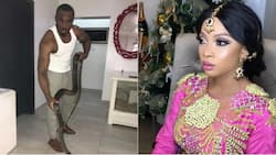 Controversial club owner Pretty Mike reveals reason he named his pet snake after Toke Makinwa