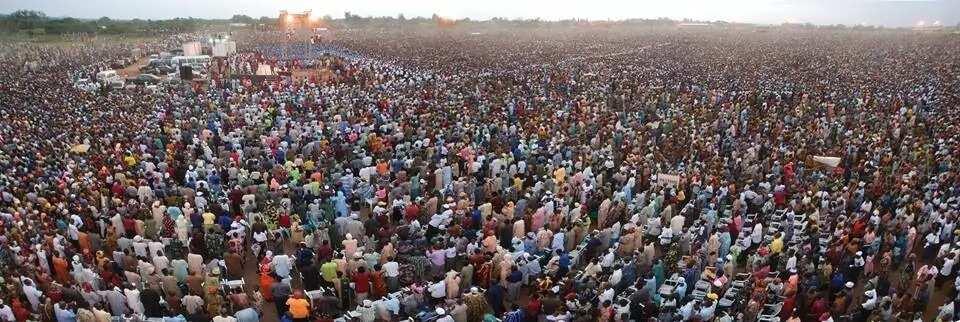 Evangelist Reinhard Bonnke Nigerian Crusade