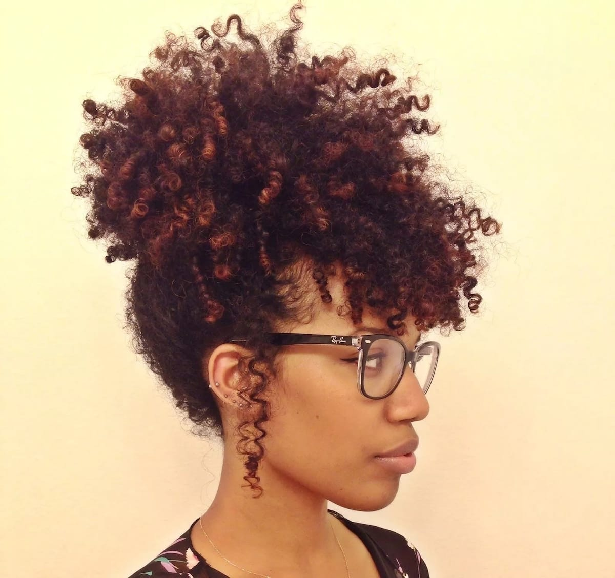20 Medium Natural Hairstyles For Bright And Stylish Ladies foto