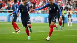 Mbappe scores as France beat Peru to qualify into the round of 16 in Group C