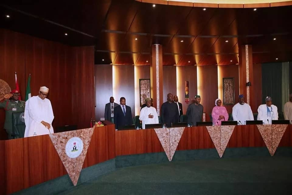 The president recently returned from an African Union summit. Photo source: Femi Adesina