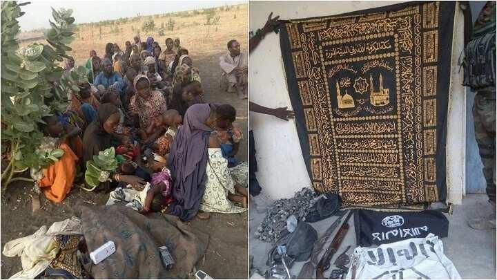 Dakarun Sojin kasa sun yi ma mayakan Boko Haram diran mikiya, sun aika da 15 barzahu