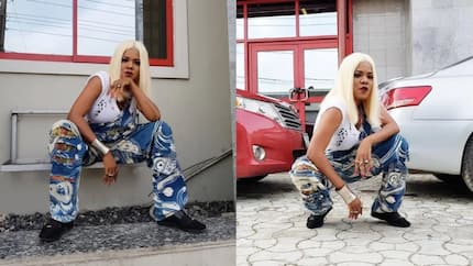 Toyin Aimakhu displays gangster side of her in new photos