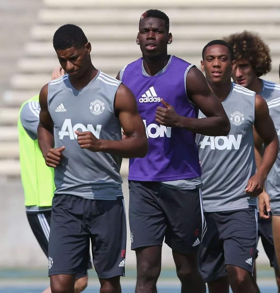Mourinho names Paul Pogba and 3 others as 'United's bad boys'