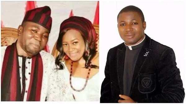 Catholic Priest who dumped Priesthood recently got married (Photos)