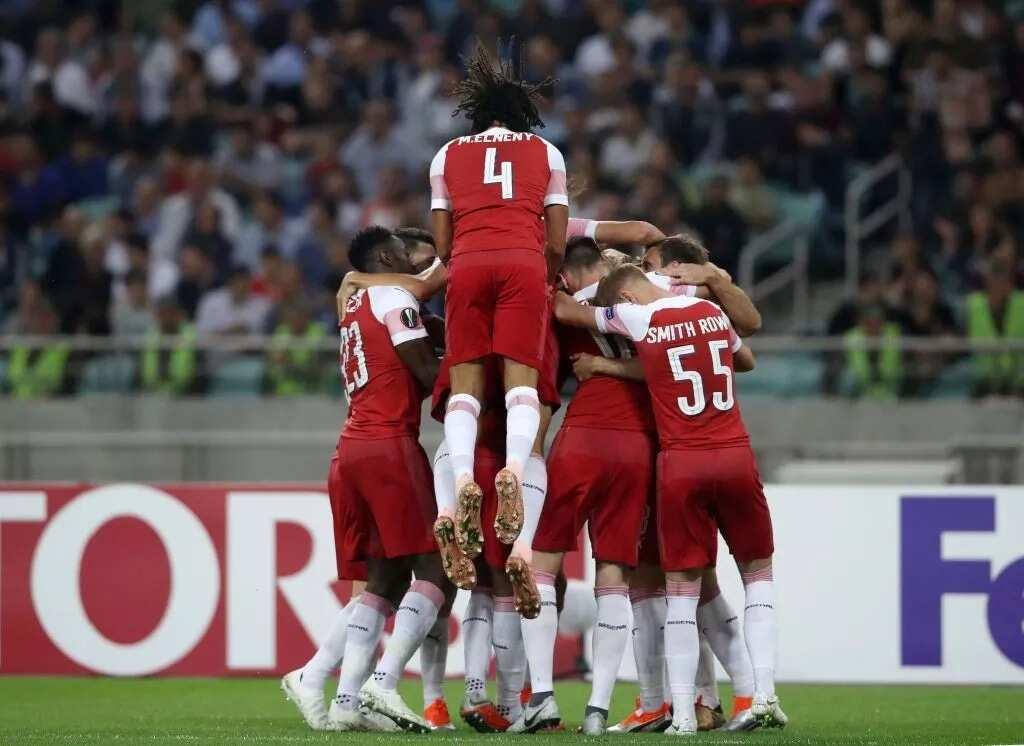Arsenal thrash Qarabag to extend their winning streak in the Europa League
