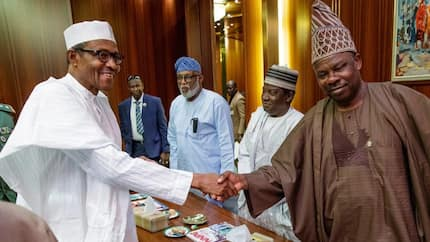 President Buhari reportedly warns Amosun against anti-party activities