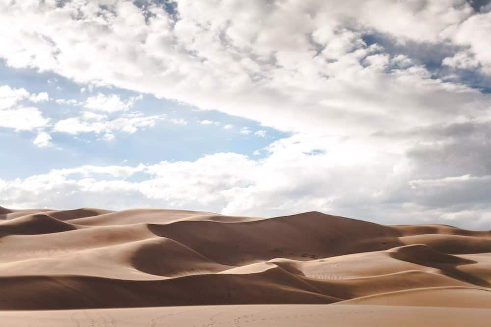Desert's edge is found in Nigeria
