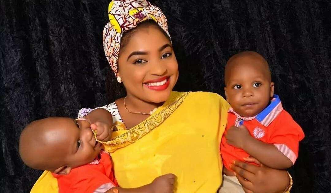 Aisha Aliyu Tsamiya twins