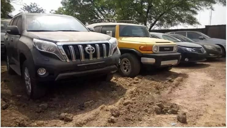 Court hands over ex-Customs boss's 17 vehicles seized by EFCC to FG