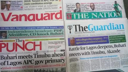 Newspaper review: Pressure on 5 aspirants to step down for Aisha Buhari's brother