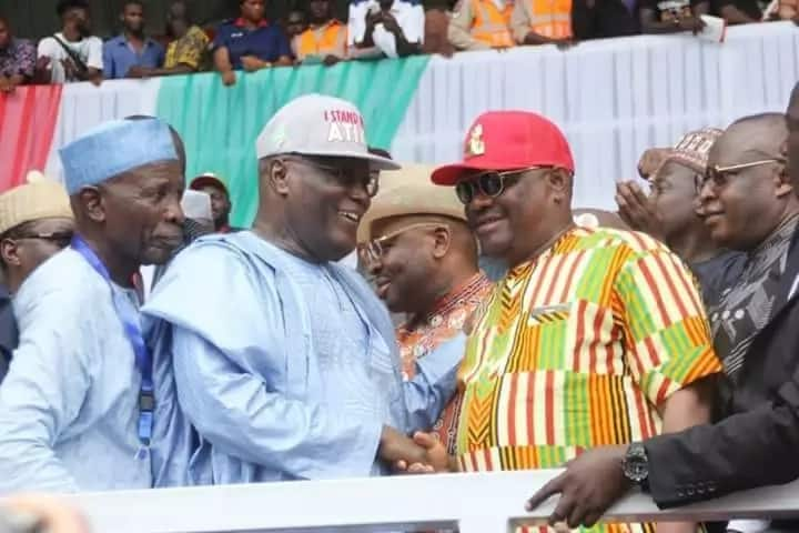 Wike, Saraki, other PDP aspirants congratulate Atiku (photos)