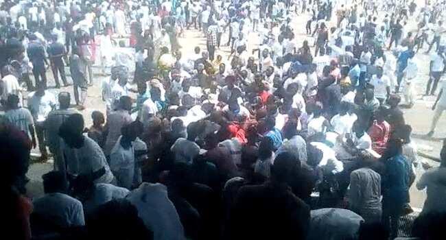 Yanzu Yanzu: Magoya bayan Buhari sun kara a Abuja