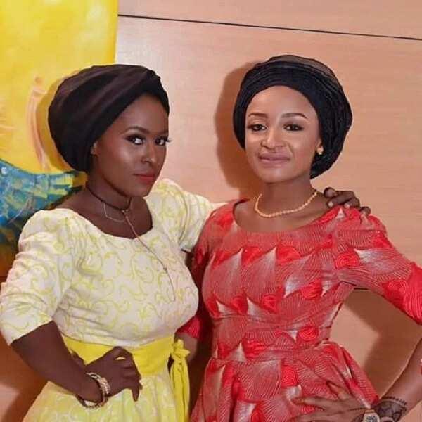 Dandalin Kannywood: Kyakyawar alaka ta kullu tsakanin Nafisa Abdullahi da Rahma Sadau a yanzu