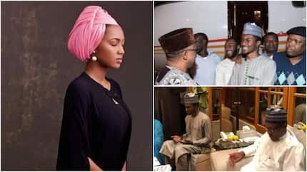Zahra Buhari glad to have her brother back home, shares sweet words on social media